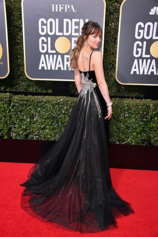Dakota-Johnson-Gucci-Dress-Golden-Globes-2018-2
