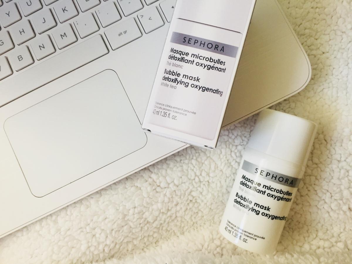 Sephora Collection Bubble Mask Detoxifying Oxygenating Beautyworkers Blog